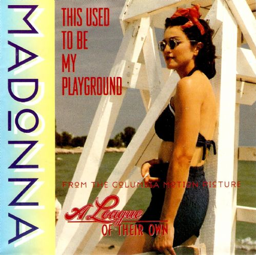 MADONNA This Used To Be My Playground Vinyl Record 7 Inch German Sire 1992